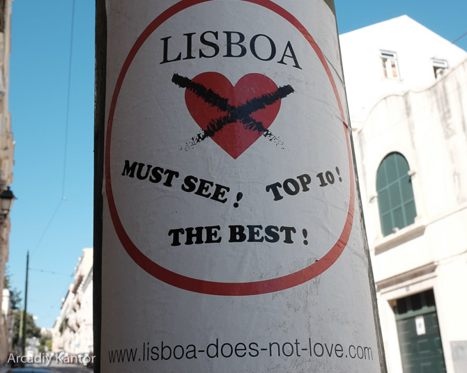 Lisbon does not love top 10 lists